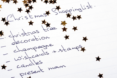 Christmas Survival Guide – Making a Holiday List and Checking It Twice