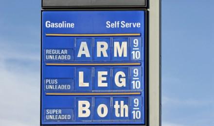 Gas Prices Start Inching Up