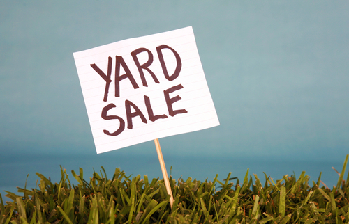 Plan and Organize for a Successful Yard Sale