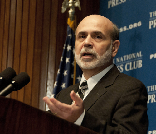 Bernanke Worried About the Shadow Banking System